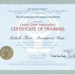 Kundalini Certification