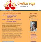 Kundalini Yoga with Michelle April 2013